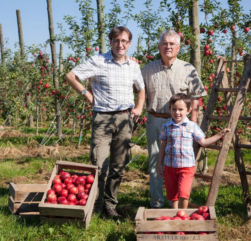 Arboriculteurs de pères en fils