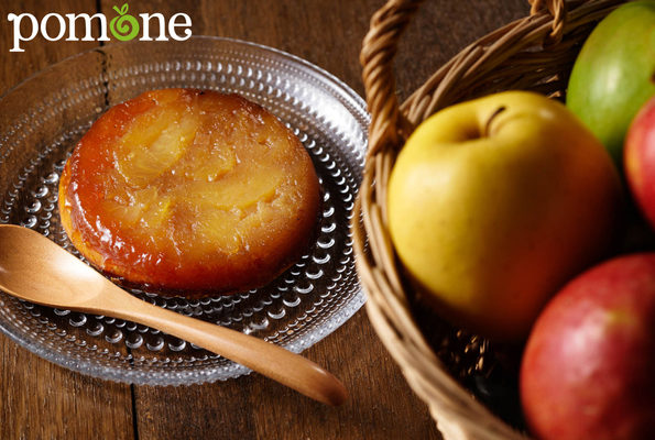 Pomone desserts adventure started with the tarte tatin.