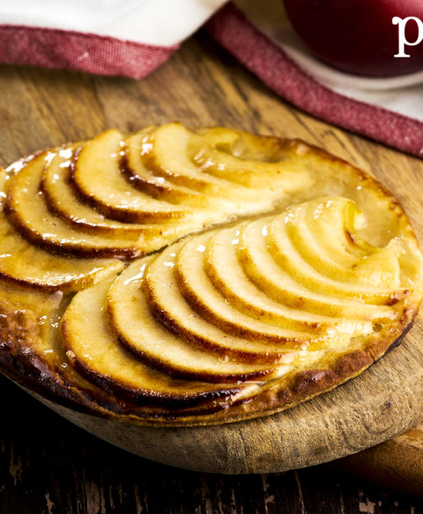 Tartes fines, le goût du fruit dans son plus simple appareil.